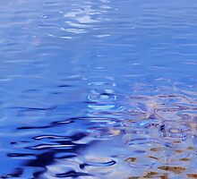 Ripples of Blue by aprilann