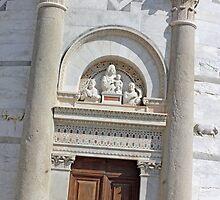 Leaning Tower of Pisa Entrance by kirilart
