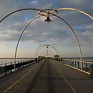 Pier in Southport United Kingdom by kirilart