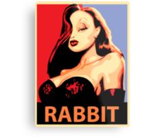 Jessica Rabbit Metal Print