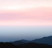 Colombia - Sunset in the Sierra Nevada de Santa Marta by Christian Werthenbach