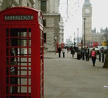 Telephone Box by Thatkidstuieee