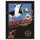 Duck Hunt Nes Art by Funkymunkey