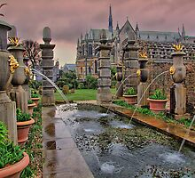 The Collector Earl's Garden Arundel Castle 1 - HDR by Colin J Williams Photography