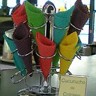 Coloured Ice Cream Cones [Cucurucho De Colores] - $9.00 by Sauropod8
