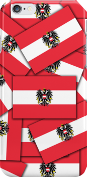Smartphone Case - Flag of Austria (State) - Multiple by Mark Podger