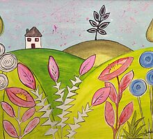 House on a hill by Julie Anne