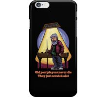 Old Pool Players iPhone Case/Skin