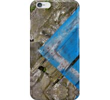 A Big Blue - V iPhone Case/Skin
