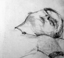 Life Drawing Study 11. by - nawroski -