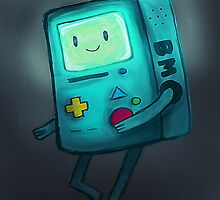 Night Light BMO by toast-y