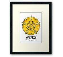 Game of Thrones - Tyrell house  Framed Print