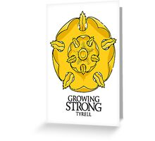 Game of Thrones - Tyrell house  Greeting Card