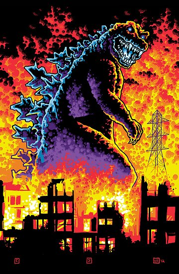 King of the Monsters by cs3ink