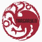 game of thrones, House Targaryen of Dragonstone by morigirl