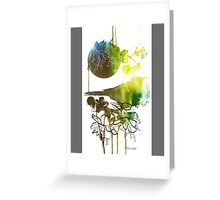 Spring always comes. Just wait Greeting Card