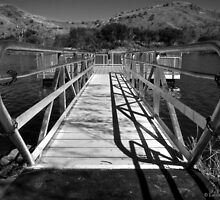 Dock Walkway by Lucinda Walter