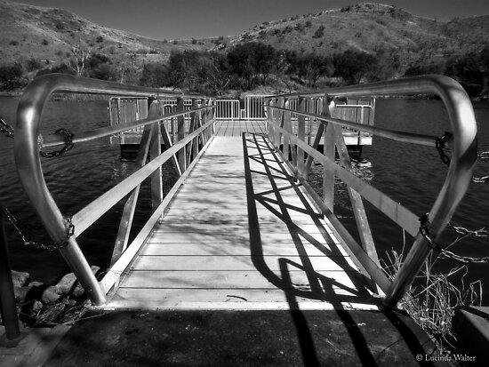 Dock Walkway by Lucinda Walter
