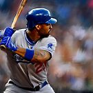 Los Angeles Dodgers Matt Kemp by art-hammer