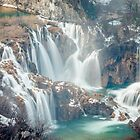 Waterfalls in Plitvice Lakes National Park by Philip Kearney