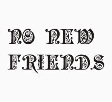 No New Friends by PerryTheCreator