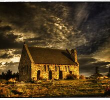 Church of the Good Shepherd - Lake Tekapo by Robyn Carter