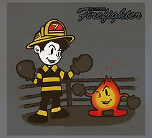 The Literal Firefighter by Thomas Orrow