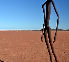 Lake Ballard  Sculptures W.A. by andypatt