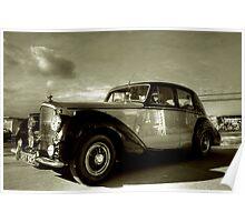 1952 Bentley R Type  Poster