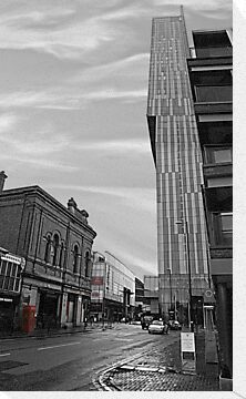 Beetham Tower Manchester, Urban street. by 'John Rogers'