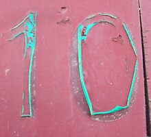 NUMBER 10, Ten by TOM HILL - Designer