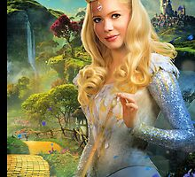 "Glinda from ""Oz: the Great and Powerful"" - City of Oz/Yellow Brick Road by Britnasty"