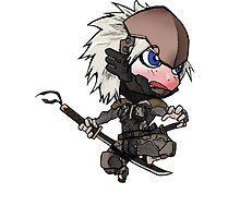Chibi Raiden by Mramirez91
