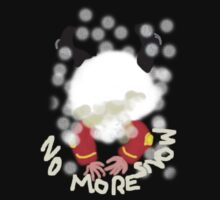 NO MORE SNOW  TEE SHIRT/KIDS TEE by Shoshonan