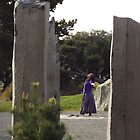 The Dancer at Tacoma's Chinese Reconciliation Park by seeingred13