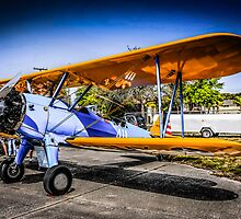 WWII US Army Air Corp PT-17 Steerman training Plane by chris-csfotobiz