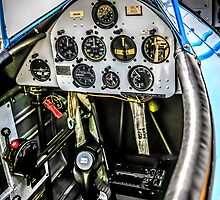 PT17 Stearman Cockpit by chris-csfotobiz