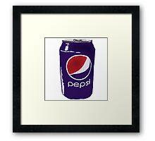 Pepsi Framed Print
