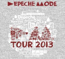 Depeche Mode : Tour Logo 2013 - With old logo 2 by Luc Lambert