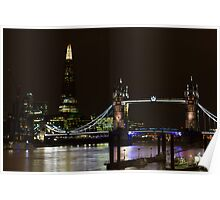 The Shard and Tower Bridge Poster