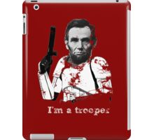 Abraham Lincoln Stormtrooper iPad Case/Skin