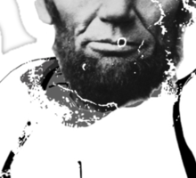 Abraham Lincoln Stormtrooper (without text) Sticker
