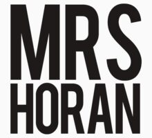Mrs. Niall Horan by Tom Sharman