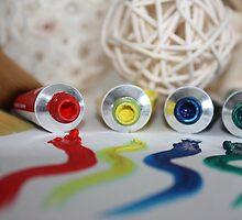 An Artist's Palette by Crista Peacey