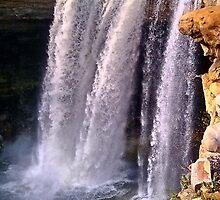 Noccalula Falls in Gadsden, AL USA #1 by Charldia