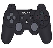 Playstation 3 Controller Photographic Print