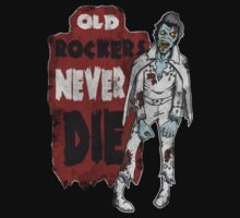 """Old Rockers Never Die"" by andresMvalle"
