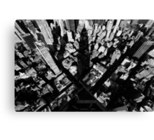 Empire State Shadow, March 2013 Canvas Print