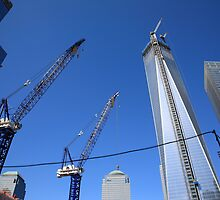 New York City Freedom Tower by Frank Romeo