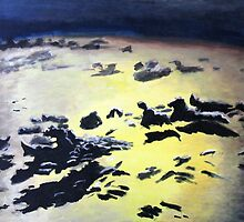 Caribbean Sea by Glenn Browning